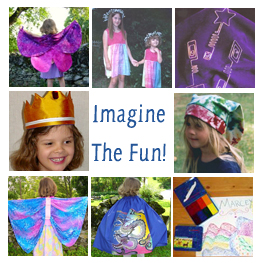 Children's dress up costumes for imaginative play